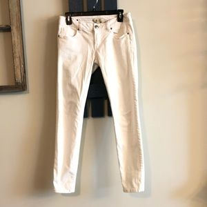 CAbi size 2 white jeans